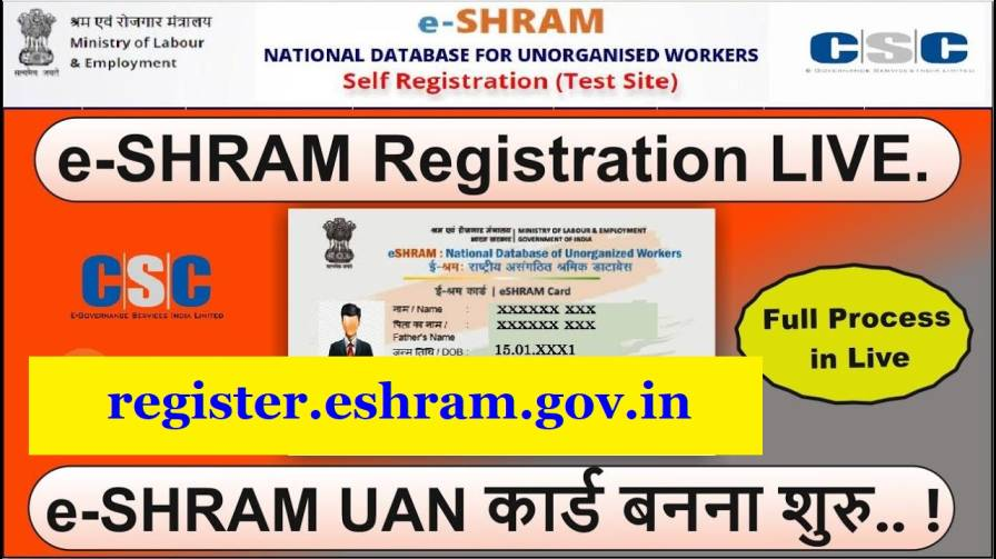 register.eshram.gov .in